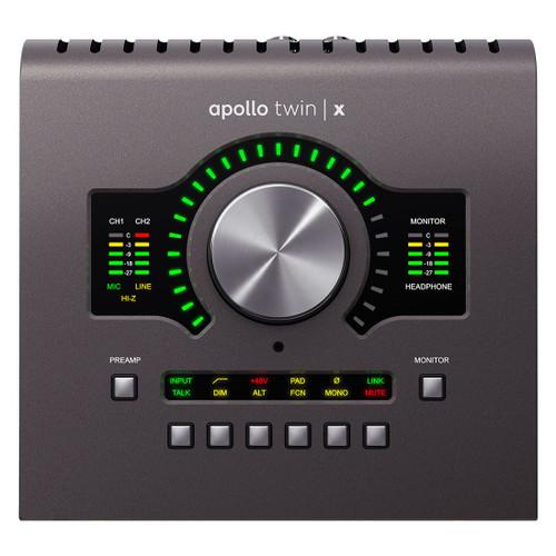 Universal Audio Apollo Twin X QUAD 10x6 Thunderbolt Audio Interface with UAD DSP
