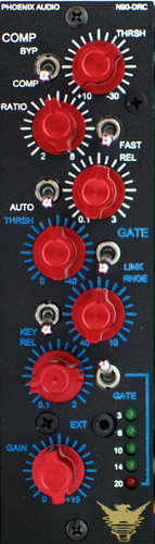 Phoenix Audio N90-DRC/500 Series Compressor/Gate