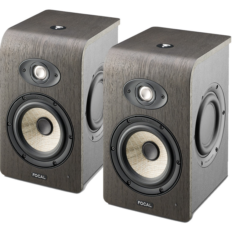 """Focal Shape 50 5"""" Powered Studio Monitors (Pair) + Free Cables!"""