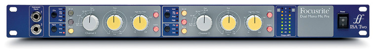 Focusrite ISA Two 2-channel Microphone Preamp