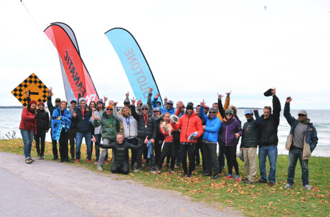 Good memories from last year's event in Sandbanks, Lake Ontario