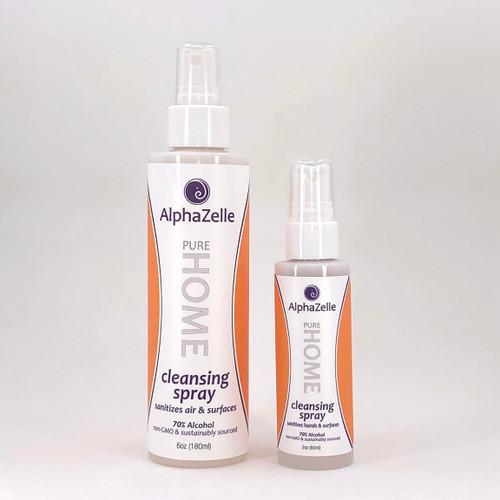 AlphaZelle Cleansing Spray - surface sanitizer