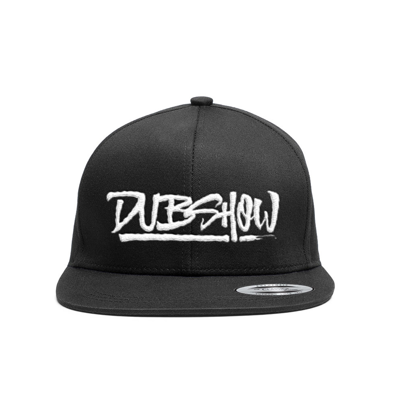 DUB Show Script Snapback Cap - White - DUB Shop 05b9af8de9c3