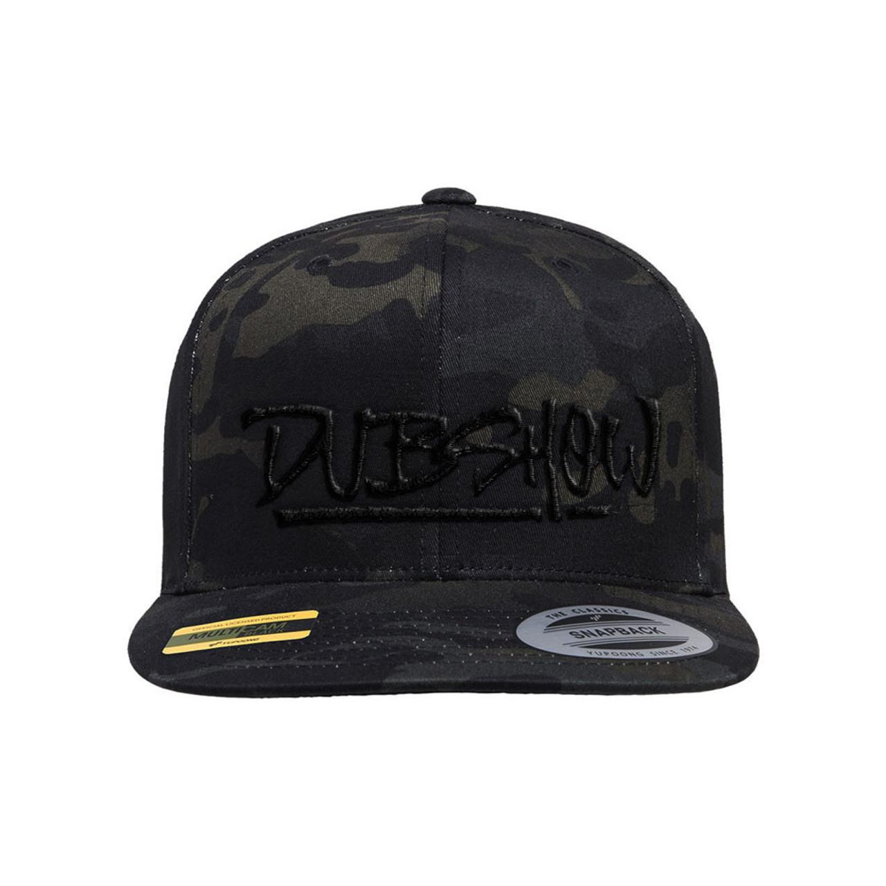 DUB Show Script Snapback - Multicam Black - DUB Shop 410d6b047aac