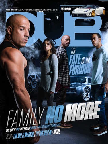 DUB Magazine Issue 101 - Fate of the Furious cover