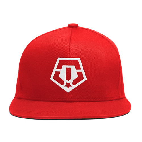 TIS Snapback Cap - RED