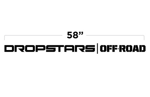 "58"" Dropstars Off Road Door Decal"