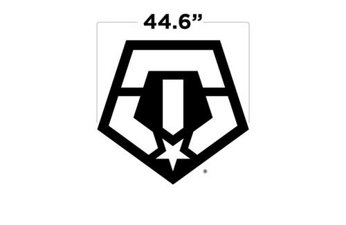 """44.6"""" TIS Logo Large Door Decal"""