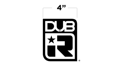 "5"" DUB IR Small Decal"