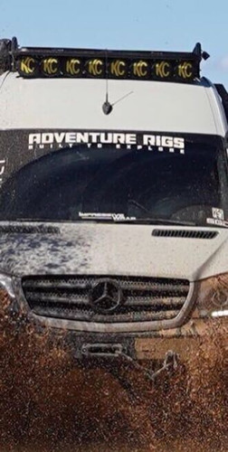 """40"""" Adventure Rigs Decal"""