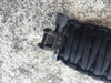 ADJUSTABLE TWO POINT PARACORD SLING - BLACK WITH GROVTEC SWIVELS