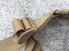 SINGLE POINT PARACORD SLING COYOTE BROWN NYLON