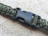 OD GREEN SINGLE POINT MS3 PARACORD SLING (CUSTOM) WITH QUICK DETACH BUCKLE