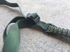 OD GREEN SINGLE POINT MS3 PARACORD SLING (CUSTOM) WITH ADJUSTABLE NYLON STRAP