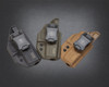 Kydex Covert Series Holster in Black, OD Green, and Coyote Tan