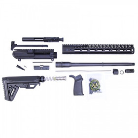 GUNTEC AR .308 CAL MLOK COMPLETE RIFLE KIT COMBO (NO LOWER)