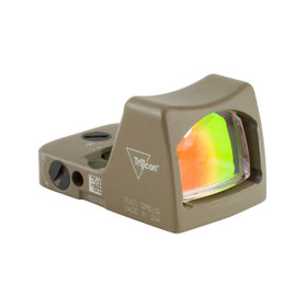 TRIJICON RMR TYPE 2 LED SIGHT - 6.5 MOA RED DOT FDE