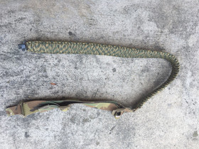 Adjustable Two Point Paracord Sling in Multicam with GrovTec Swivel