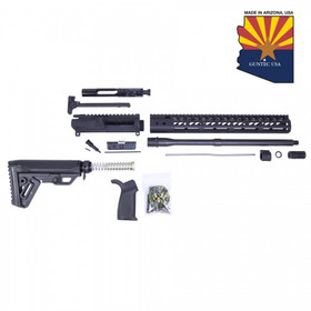GUNTEC USA AR15 5.56 COMPLETE MLOK RIFLE KIT (NO LOWER)