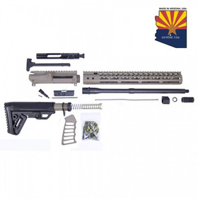 GUNTEC USA AR15 5.56 COMPLETE RIFLE KIT (NO LOWER) (FLAT DARK EARTH)