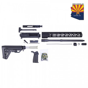 GUNTEC USA AR15 5.56 COMPLETE AIRLITE MLOK RIFLE KIT (NO LOWER)