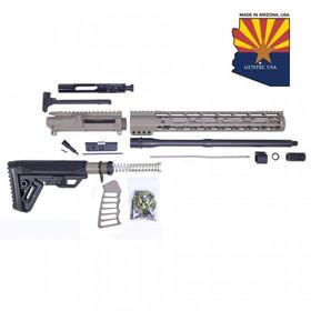 GUNTEC USA AR15 5.5 COMPLETE ULTRALIGHT RIFLE KIT (NO LOWER) (FLAT DARK EARTH)