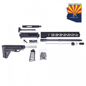 GUNTEC USA AR15 5.56 COMPLETE AIR-LOK ULTRALIGHT MLOK RIFLE KIT (NO LOWER)