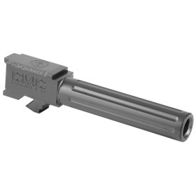 CMC GLOCK 19 FLUTED NON-THREADED BARREL BLACK