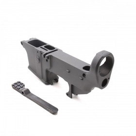 TIGER ROCK AR9 9MM 80% ANODIZED LOWER RECEIVER (GLOCK MAG COMPATIBLE)
