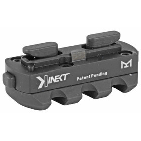 KINETIC DEVELOPMENT GROUP KINECT MLOK 3 SLOT (SINGLE MLOK) MOUNT BLACK