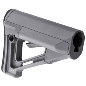 MAGPUL STR CARBINE STOCK - COMMERCIAL GRAY