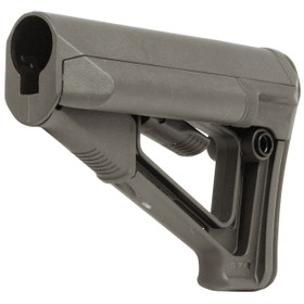 MAGPUL STR CARBINE STOCK - COMMERCIAL FOLIAGE GREEN