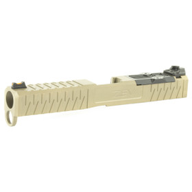ZEV TECH Z17 FDE ENHANCED SOCOM COMPLETE SLIDE GEN 4 GLOCK SLIDE UPGRADE FOR RMR