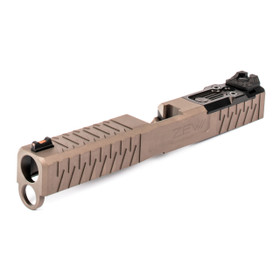 ZEV TECH Z19 FDE ENHANCED SOCOM COMPLETE SLIDE GEN 4 GLOCK SLIDE UPGRADE FOR DPP