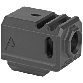 AGENCY ARMS 417 COMPENSATOR BLACK