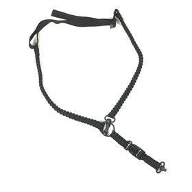 BLACK SINGLE POINT MS4 PARACORD SLING