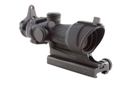 ACOG 4X32 SCOPE WITH AMBER CENTER ILLUMINATION FOR M4A1 - INCLUDES FLAT TOP ADAPTER, BACKUP IRON SIGHTS AND DUST COVER