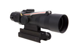 3X30 COMPACT ACOG SCOPE, DUAL ILLUMINATED RED CHEVRON .223 62GR. BALLISTIC RETICLE WITH COLT KNOB THUMBSCREW MOUNT