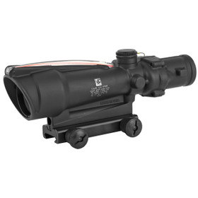 TA11F: TRIJICON AGOG 3.5x35 SCOPE, DUAL ILLUMINATED RED CHEVRON BAC .223 FLATTOP RETICLE WITH TA51 MOUNT