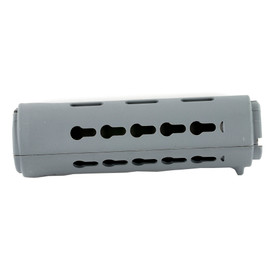 B5 SYSTEMS KEYMOD HAND GUARD, CARBINE LENGTH - GRAY