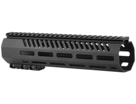 MISSION FIRST TACTICAL TEKKO FREE FLOAT 10 INCH MLOK RAIL - BLACK