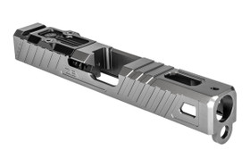 ZEV Z19 GLOCK OMEN STRIPPED SLIDE WITH RMR PLATE, GRAY