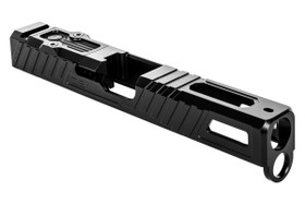 ZEV Z17 GLOCK OMEN STRIPPED SLIDE WITH RMR PLATE, BLACK
