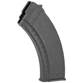 TAPCO AK47 762X39 30 ROUND SMOOTH SIDE MAGAZINE BLACK