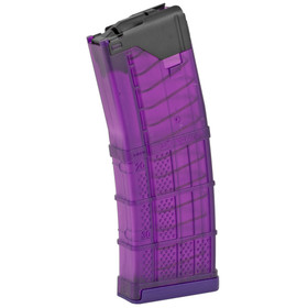 LANCER SYSTEMS L5AWM 5.56 MAGAZINE - TRANSLUCENT PURPLE