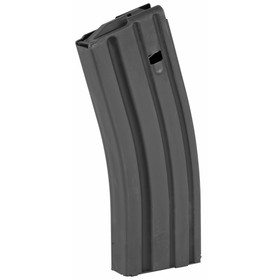AMMUNITION STORAGE COMPONENTS AR-15 30 RD .223/5.56 STAINLESS STEEL MAGAZINE - BLACK WITH BLACK FOLLOWER