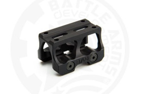 BATTLE ARMS LIGHTWEIGHT OPTIC MOUNT FOR TRIJICON® MRO® - ABSOLUTE CO-WITNESS - BLACK