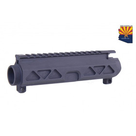 GUNTEC USA AR15 AIRLITE SERIES STRIPPED BILLET UPPER RECEIVER - BLACK