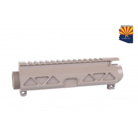 GUNTEC USA AR15 AIRLITE SERIES STRIPPED BILLET UPPER RECEIVER - FLAT DARK EARTH