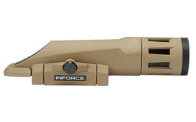 INFORCE WMLX WHITE/IR GEN 2 WEAPONS LIGHT FDE